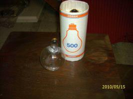 OSRAM 500W Glühbirnen