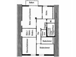Foto 6 Oberwohnung mit Balkon in ruhiger Lage von Leer-Loga