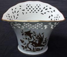 Foto 3 Obstschale und Vase, Durchbruchporzellan von Schumann Arzberg