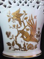 Foto 4 Obstschale und Vase, Durchbruchporzellan von Schumann Arzberg