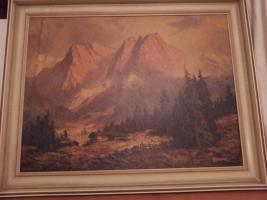 Öl Gemälde von AD. Wegener