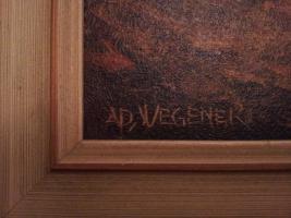 Foto 2 Öl Gemälde von AD. Wegener