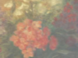 Foto 4 Ölbild auf Holz , Stilleben , Blumenvase