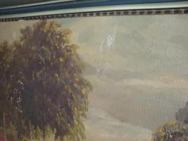 Foto 3 Ölgemälde Heidelandschaft