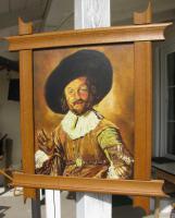 Foto 3 Ölgemälde auf Leinen 40x50 cm -Keilrahmen- 46 Jahre alt -Der fröhliche Trinker-