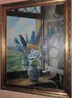 Ölgemälde auf Leinwand 91x 71 cm, ca.1920 Ricardo Gilbert