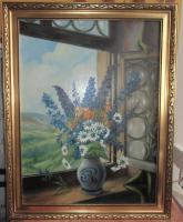 Foto 2 Ölgemälde auf Leinwand 91x 71 cm, ca.1920 Ricardo Gilbert