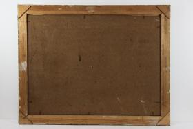 Foto 2 Ölgemälde Personen mit Erzengel Spätbarock um 1780