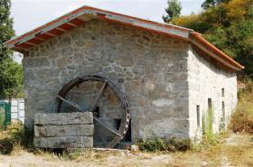 Ölmühle des achtzehnten Jahrhunderts in Portugal