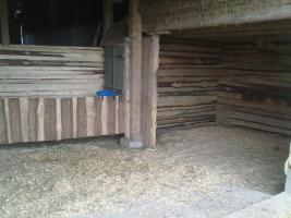 Offenstall, Pferdeboxen, ganz jahres Koppeln