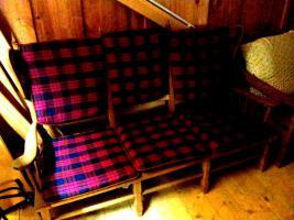 Foto 2 Ohrensessel 2x + 3 Sitzer