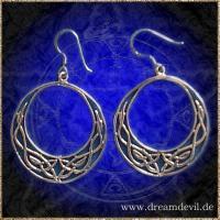 Ohrhänger keltischer Halbmond