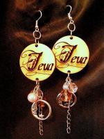 Foto 4 Ohrringe mit eingraviertem Namen