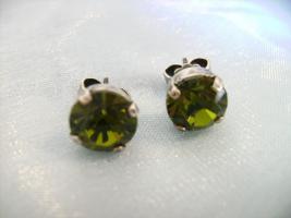 Foto 6 Ohrstecker , Swarovski Elemente, Emerald