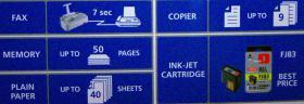 Foto 5 Olivetti Tinten-Fax-Kopierer-Anrufbeantworter-Telefon.