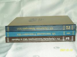 Foto 2 Olympiabücher 1952 1956