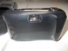 Foto 3 Olympus µ [mju:] -1, Autofokus Kleinbildkamera mit 35 mm Objektiv, Tasche