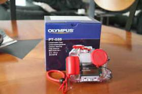 Foto 2 Olympus Mju 770SW neuwertig + Unterwasserghäuse PT-035 neu!