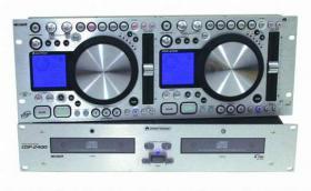 Omnitronic Doppel-CD-Player CDP-2400 mit Scratchfunktion neuwertig