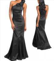 One Shoulder Abend Kleid