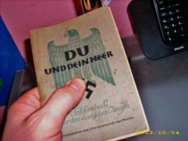 Org. Handbuch °° DU UND DEIN HEER °° Herausgabe 1943 °°