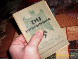 Org. Taschenbuch '' DU UND DEIN HEER '' mit Orginal Stempel