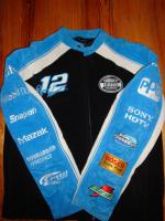 Orig. NASCAR Rennsport Jacke (Leder) zu verkaufen