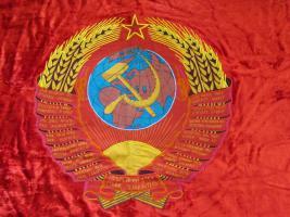 Foto 4 Original-Fahne der ehemaligen Sowjeunion