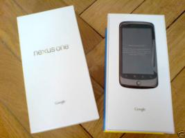 Original GOOGLE NEXUS ONE - NEU