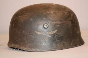 Original German WW2 Fallschirmjager M38 Helmet/ET68