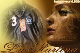 Original La Martina Lederjacke '2010' Gr. M, L, XL, XXL, XXXL Neu