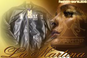 Original La Martina Lederjacke ''2010'' Gr. M, L, XL, XXL, XXXL Neu
