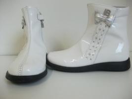Original Laura Biagiotti Dolls 'Vernice Bianca' Schuhe
