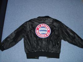 Original Lederjacke FC Bayern