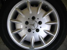 Foto 3 Original Mercedes-Benz Nabendeckel mit Chromstern  - neu - 1 Satz = 4 Stück