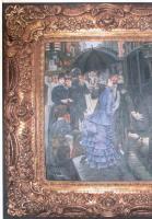 Foto 5 Original Ölgemäde aus Paris von Jean Marsche, Le' Kavalier: