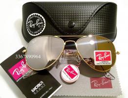 Original Ray-Ban Aviator Sonnenbrille Gold/ Silber Gr.58 (M) NEU RayBan Ray Ban Pilotenbrille