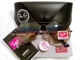 Original Ray-Ban Aviator Sonnenbrille Metall/ Halbbraun Gr.58 (M) NEU Pilotenbrille RayBan Ray Ban