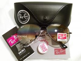 Original Ray-Ban Aviator Sonnenbrille Schwarz/ Halbbraun Gr.58 (M) NEU RayBan Ray Ban Pilotenbrille