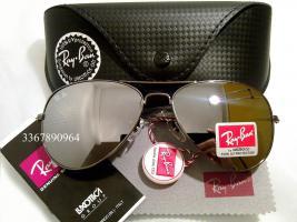 Original Ray-Ban Aviator Sonnenbrille Silber Gr.58 (M) NEU RayBan Ray Ban Pilotenbrille