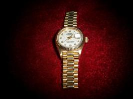 Foto 2 Original Rolex Lady Datejust 18kGG 750/000
