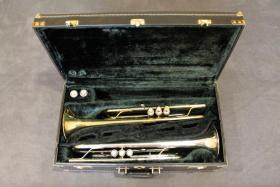 Original YAMAHA Doppelkoffer für 2 Trompeten und Zubehör