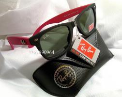 Originale Ray-Ban Wayfarer Schwarz/ Pink Matt RB2140 Gr.50 NEU RayBan Ray Ban Sonnenbrille