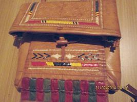 Foto 2 Originell, exotisch: Tasche im indianischen / mexikanischen Stil aus Leder