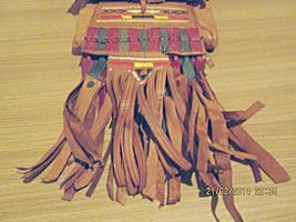 Foto 3 Originell, exotisch: Tasche im indianischen / mexikanischen Stil aus Leder
