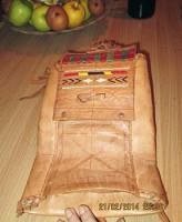 Foto 4 Originell, exotisch: Tasche im indianischen / mexikanischen Stil aus Leder