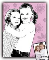 Foto 3 Originelle Geschenkidee zu Weihnachten - Portrait vom Foto im Retro- oder Popart-Stil
