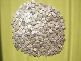 Ottomanische silber Münzen Sammlung.