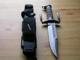 Foto 7 Outdoor/ Survivalmesser `Buckmaster 184