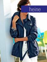 Outdoorjacke marine von heine - Gr. 40
